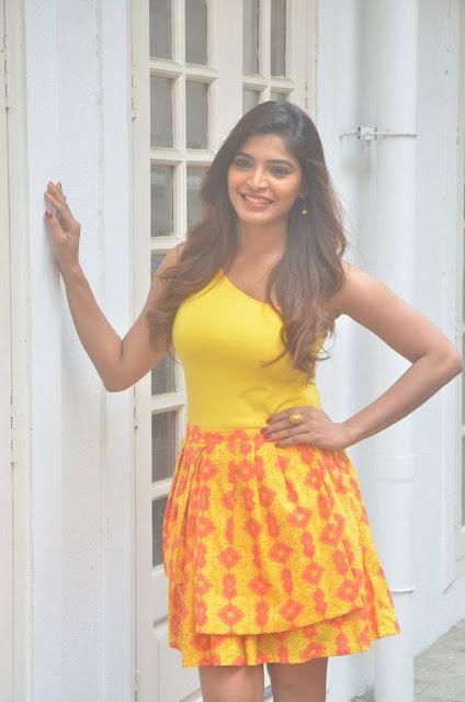 Sanchita Shetty Stills At Johnny Tamil Movie Press Meet