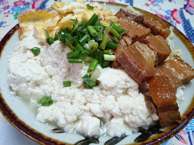 ゆし豆腐そばの写真