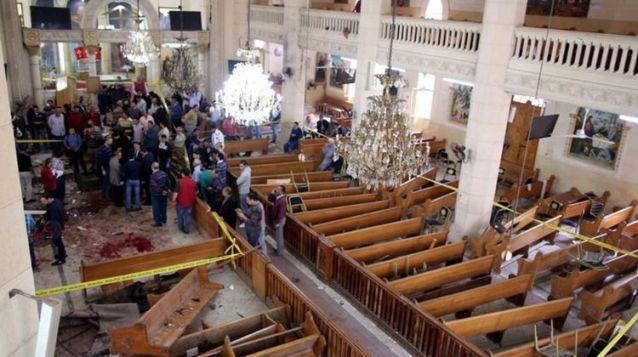 Bom Meledak di Tengah Ibadah Minggu Palma, 21 Jemaat Gereja Tewas di Mesir
