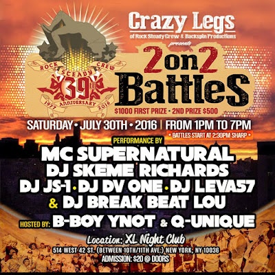 Rock Steady Crew 2 on 2 Battle