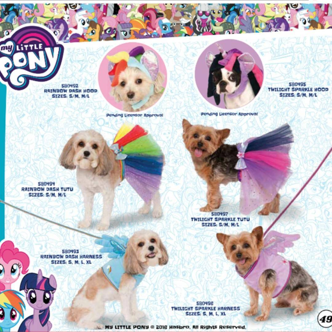 rubie s announces mlp costumes for dogs mlp merch