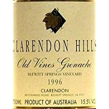 CLARENDON HILLS Old Vines Grenache Blewitt Springs Vineyard 1996 1996, Australie-Australia