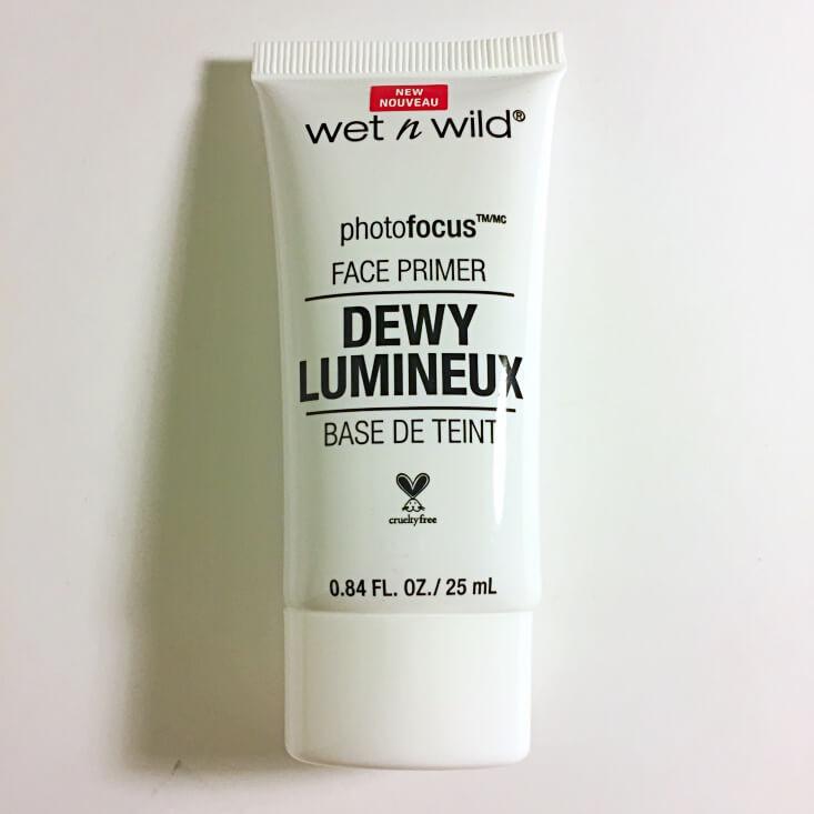 wet n wild photofocus Dewy Face Primer