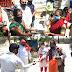 समाजसेवियों ने घूम घूम कर बांटा भोजन #KhulasaTV