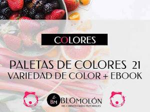 Paletas De Colores 21 Variedad De Color