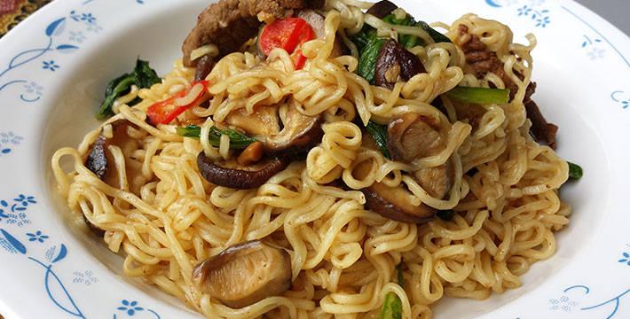 सानतंग न्यूडल्स - पाककला | Santang Noodles - Recipe