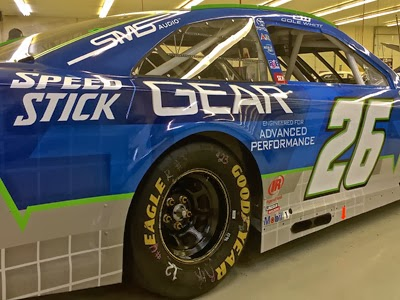 The #26 of NASCAR Sprint Cup 'Rookie of the Year' candidate Cole Whitt