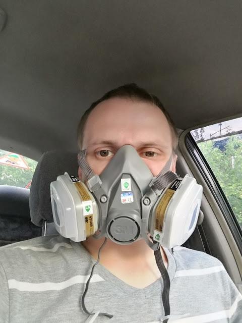Masca gaze 3M Masca de protectie 6200  filtre disponibile impotriva majoritatii substantelor chimice