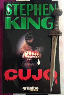 Portada del libro Cujo, de Stephen King