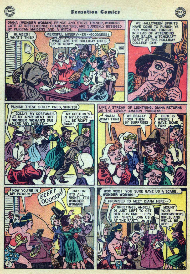 Read online Sensation (Mystery) Comics comic -  Issue #73 - 4