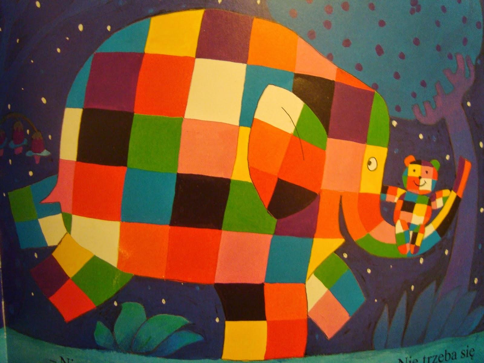 Elmer i zagubiony miś, recenzja, zdjęcia, papilon, McKee