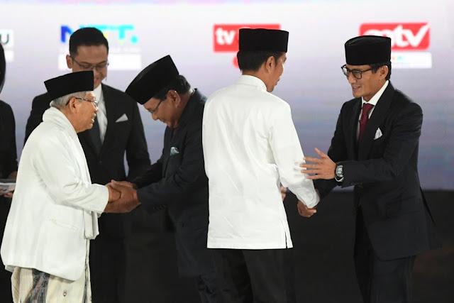 Tusuk Prabowo Sandi 13 Kali, Cawapres 02: <i>You Turn Bro</i>