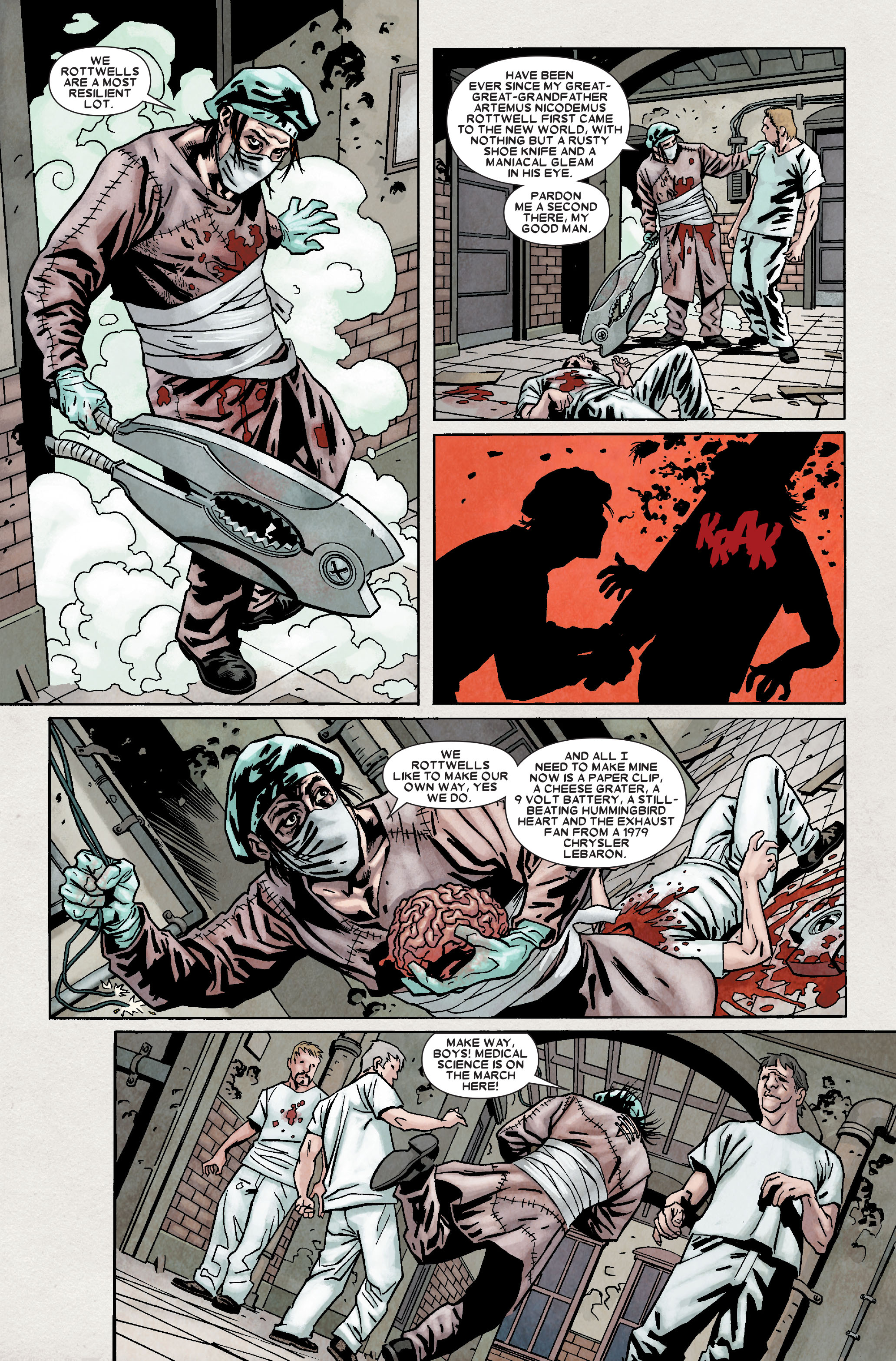 Read online Wolverine: Weapon X comic -  Issue #9 - 17