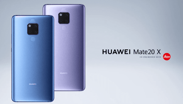 The Story about Huawei Mate20 X