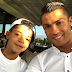 So Lovely!! Cristiano Ronaldo shares cute selfie with son