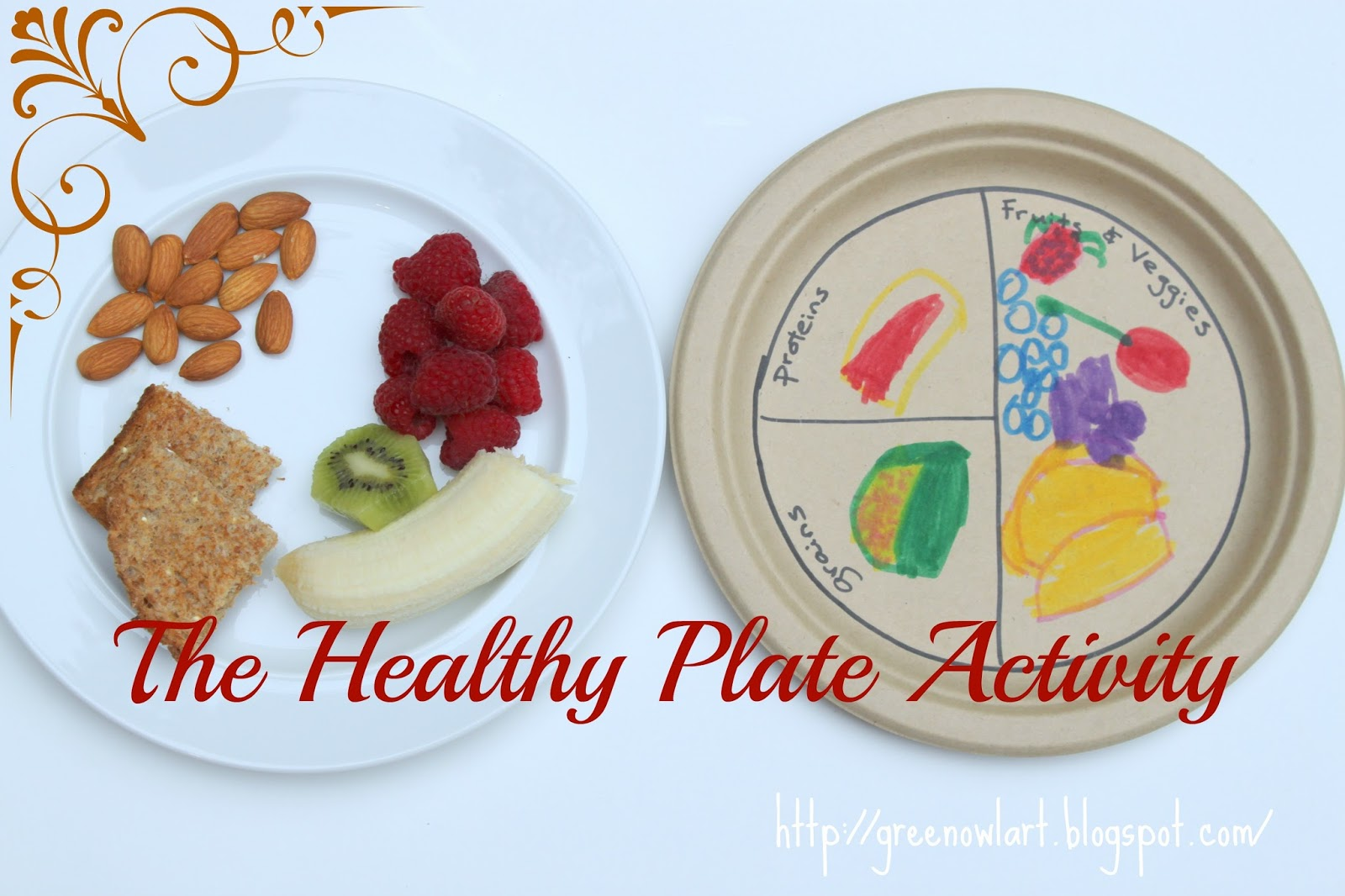 Green Owl Art The Healthy Plate