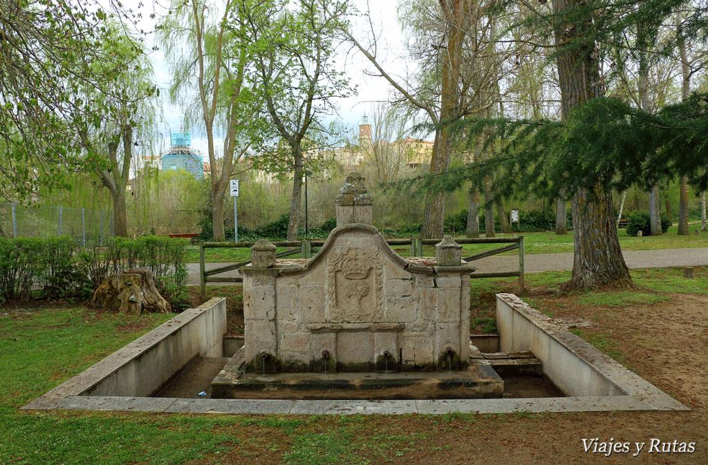 Qué ver en Almazán: Parque de la alameda