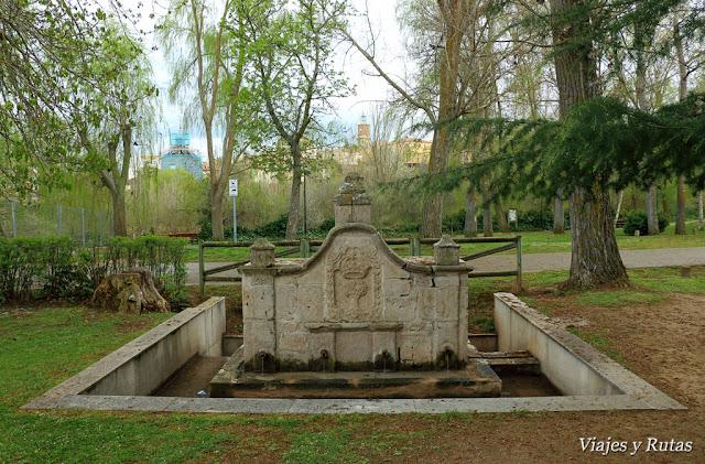 Parque de la alameda de Almazán