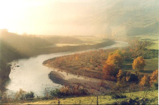 Lumi Vjosa ne rrethin e Përmetit.