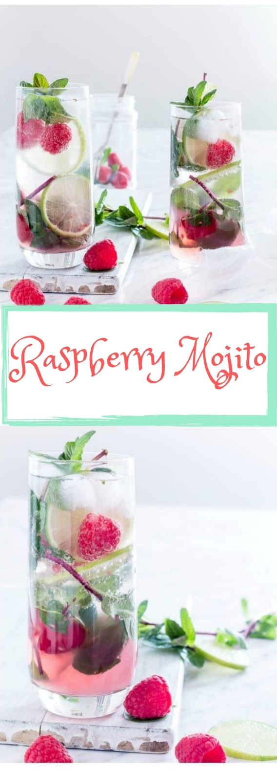 Raspberry Mojito #Freshdrink #Cocktail