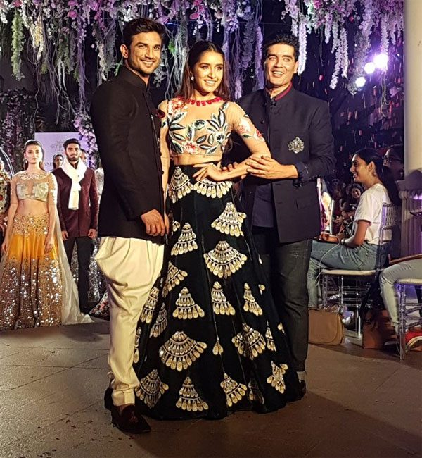 Sushant Singh,shradda kapoor Rajput at Lakme Fashion week 2016