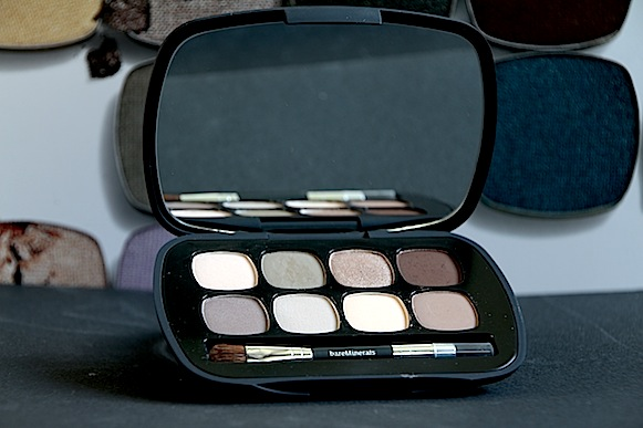 maquillage tuto bareminerals the power neutrals palette avis test swatches