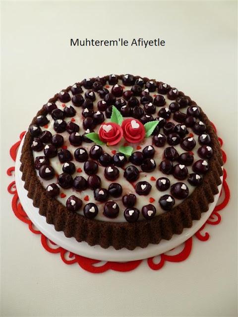 cherry tart cake