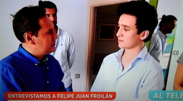 Froilán defiende la tauromaquia en una entrevista en televisión