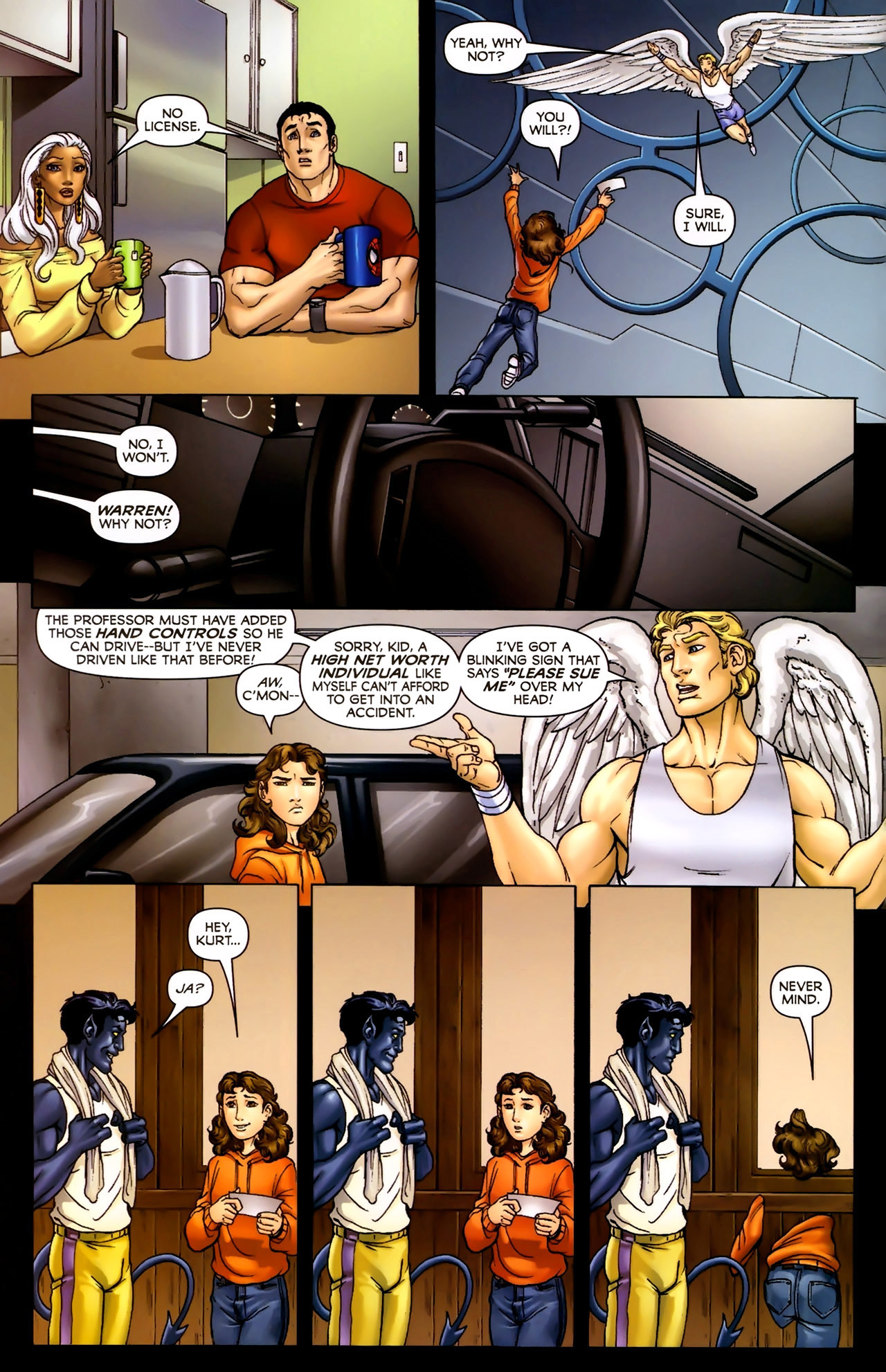 Read online Wolverine: First Class comic -  Issue #2 - 3