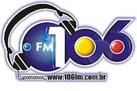 Rádio 106 FM 106,3 de Caicó - Rio Grande do Norte