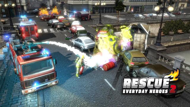 تحميل لعبة ريسكيو 2 الاطفاء RESCUE 2 Everyday Heroes كاملة للكمبيوتر برابط مباشر مجانا