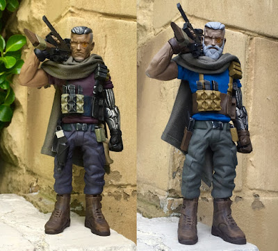 Deadpool 2's Cable Marvel Resin Figure by WheresChappell - Movie Cable & Old Man Cable