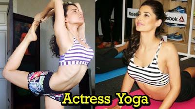 actress yoga