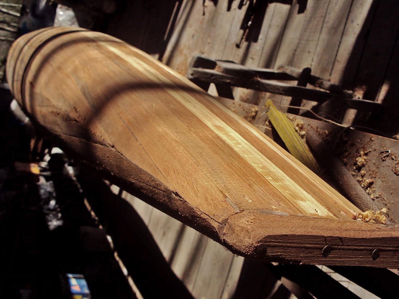 MV605 Surfski design: Model Wood Work – Catamaran Racing