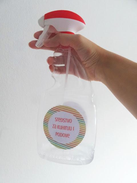 DIY sredstvo za čišćenje