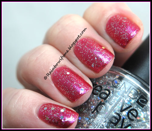 Nicole by OPI ~ Best Pink Ever & CND Creative Play ~ Bling Toss