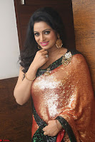 Udaya Bhanu lookssizzling in a Saree Choli at Gautam Nanda music launchi ~ Exclusive Celebrities Galleries 071.JPG