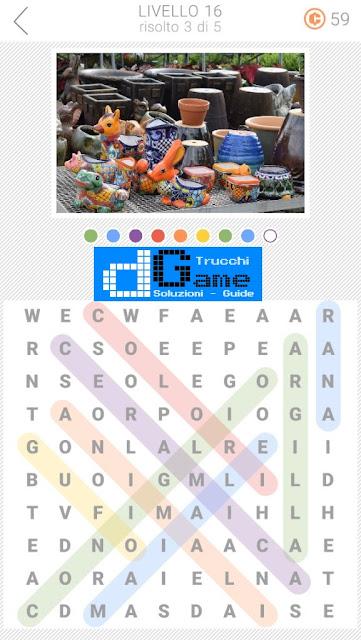 10x10 Crucipuzzle soluzione pacchetto 16 livelli (1-5)