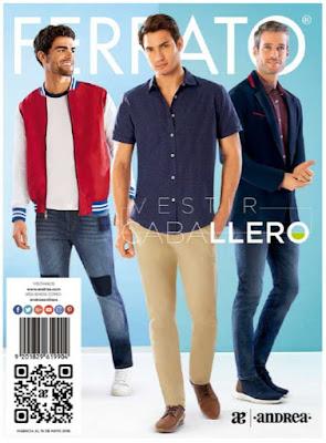 Ferrato jeans ropa Andrea Primavera verano 2018