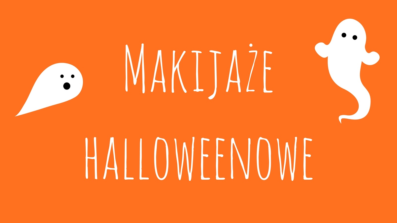 Makijaże halloweenowe