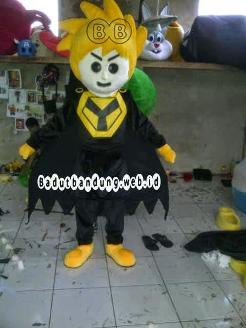 gambar depan kostum maskot pks badut pemilu parpol sukabumi