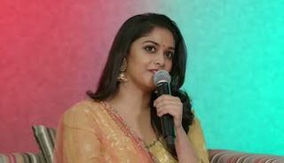 Keerthy Suresh at FB Live Streaming 1