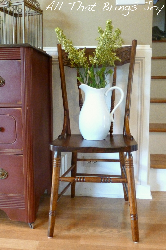 All That Brings Joy: Refinishing Antique Wood Chairs
