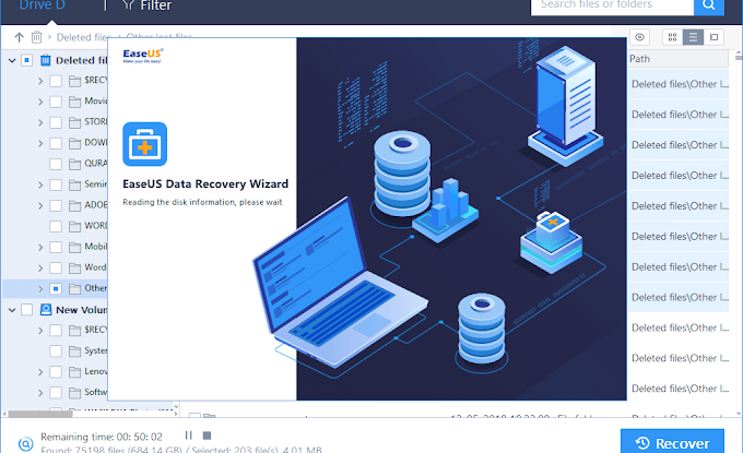 EaseUS Data Recovery (REVIEW)