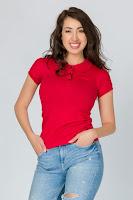 Tricou cu mânecă scurtă de damă4