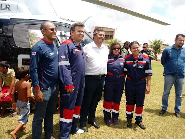 Governador Flávio Dino inaugura mais uma importantíssima obra o CTA em Presidente Dutra.