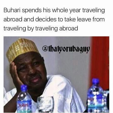 Check out this hilarious tweet mocking President Buhari