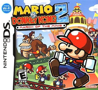Mario Vs Donkey Kong 2 - March of the Minis, NDS, Español, Mega, Mediafire
