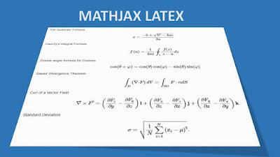 Cara Menuliskan Kode Rumus Matematika Ke dalam blogspot