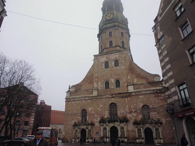 Iglesia de San Pedro (Riga) (@mibaulviajero)